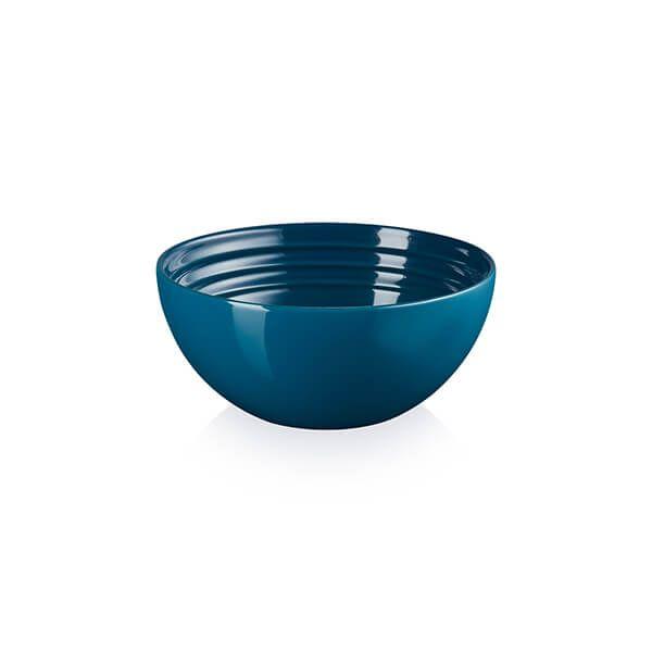 Le Creuset Deep Teal Stoneware 12cm Snack Bowl