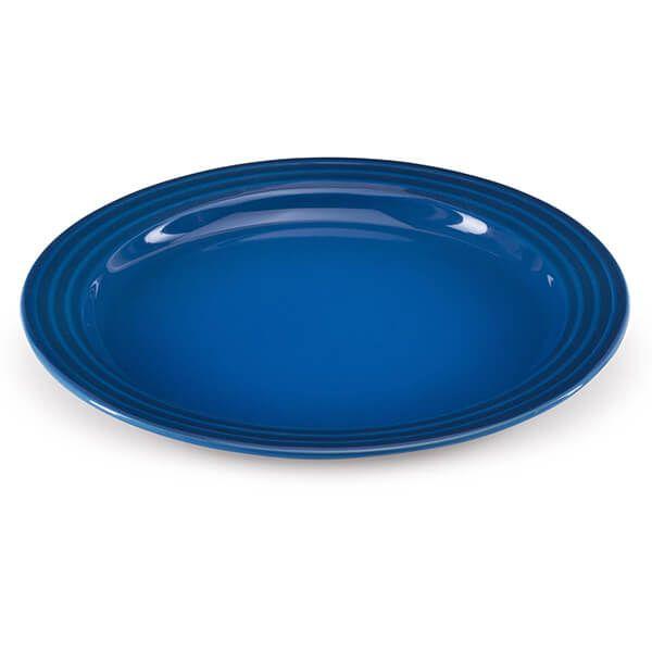 Le Creuset Marseille Blue Stoneware 27cm Dinner Plate