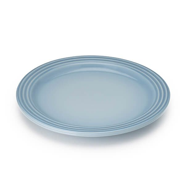 Le Creuset Coastal Blue Stoneware 27cm Dinner Plate