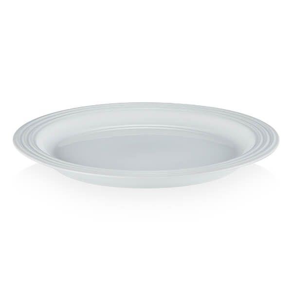 Le Creuset White Stoneware Vancouver 29cm Large Dinner Plate