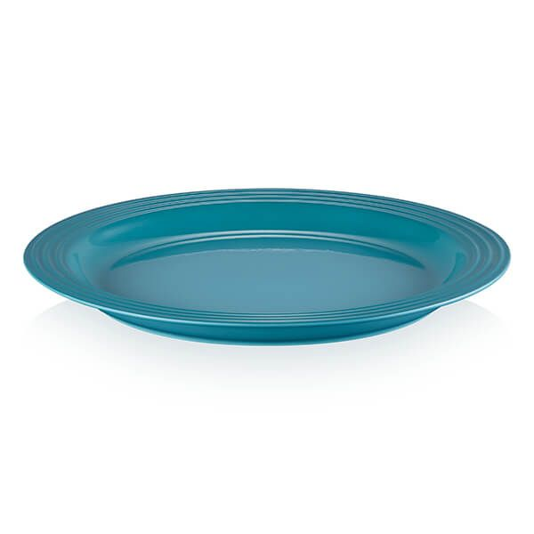 Le Creuset Teal Stoneware Vancouver 29cm Large Dinner Plate