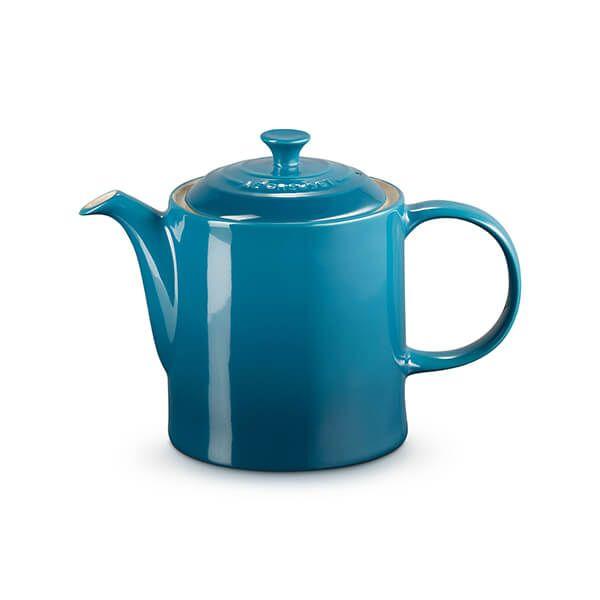 Le Creuset Deep Teal Stoneware Grand Teapot