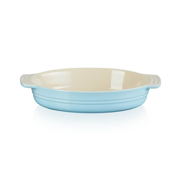 Le Creuset Sky Blue Stoneware Classic 24cm Oval Dish