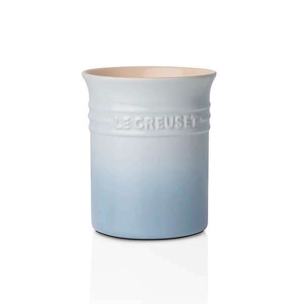 Le Creuset Coastal Blue Stoneware Small Utensil Pot