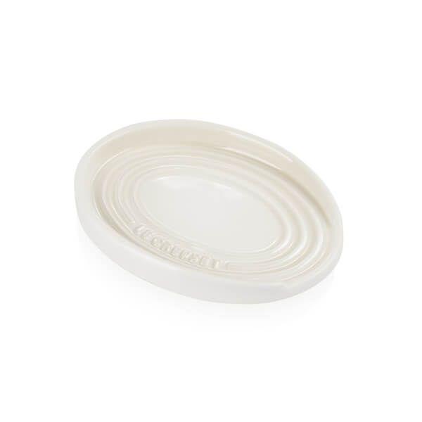 Le Creuset Meringue Stoneware Spoon Rest