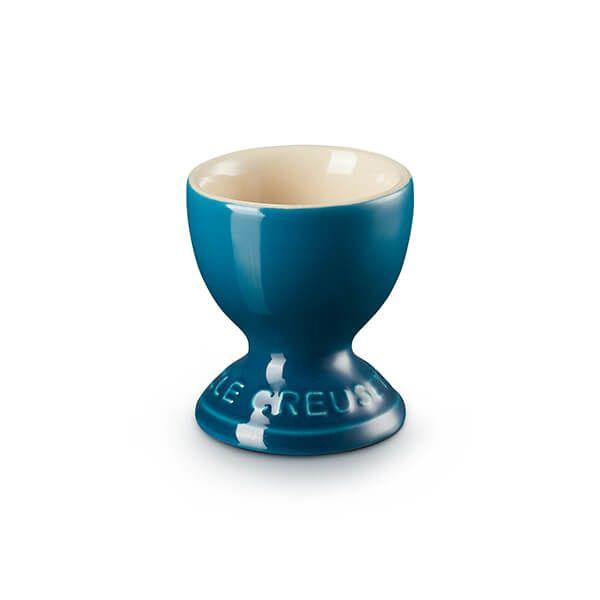 Le Creuset Deep Teal Stoneware Egg Cup