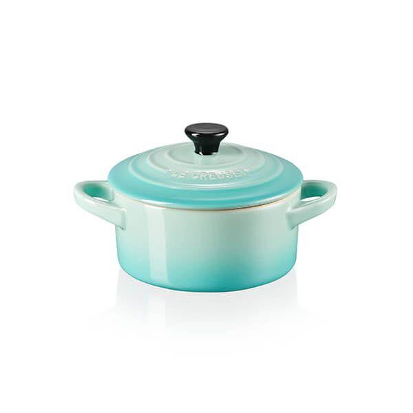 Le Creuset Cool Mint Stoneware Petite Round Casserole