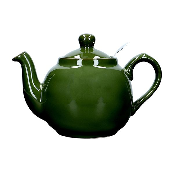 London Pottery Farmhouse Filter 2 Cup Teapot Green