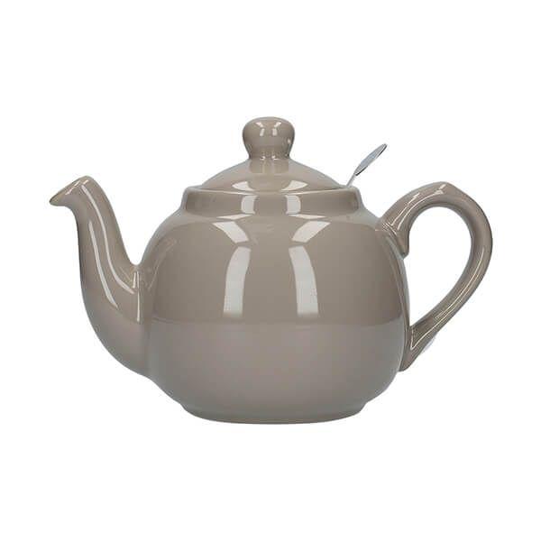 London Pottery Farmhouse Filter 2 Cup Teapot Grey