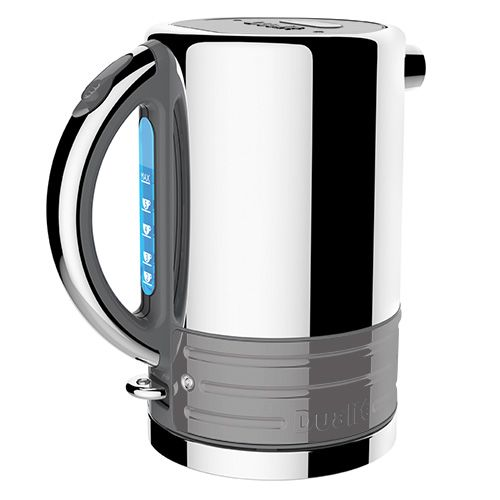Dualit Architect Grey and Metallic Silver Kettle