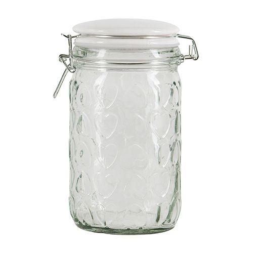Beau & Elliot Confetti Embossed Medium Glass Jar