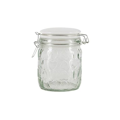 Beau & Elliot Confetti Embossed Small Glass Jar