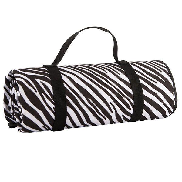 Navigate Madagascar Picnic Blanket Zebra Stripe