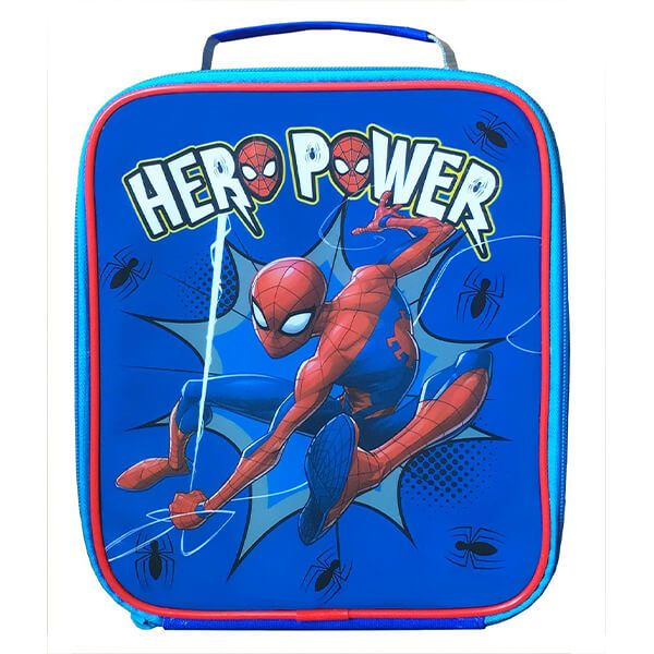 Marvel Spider-Man Hero Rectangular Lunch Bag