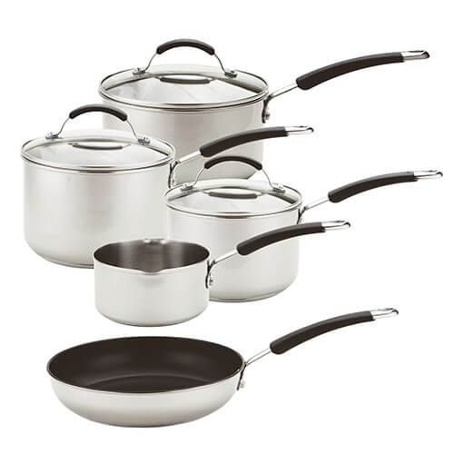 Meyer 5 Piece Stainless Steel Induction Set