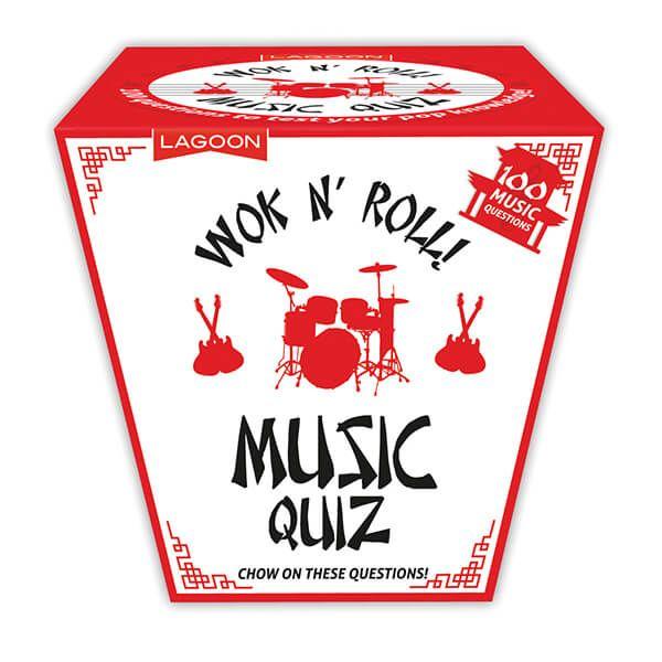 Wok N'Roll Music Trivia Quiz