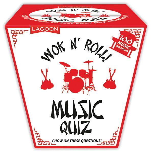 Lagoon Wok N'Roll Music Trivia Quiz Large