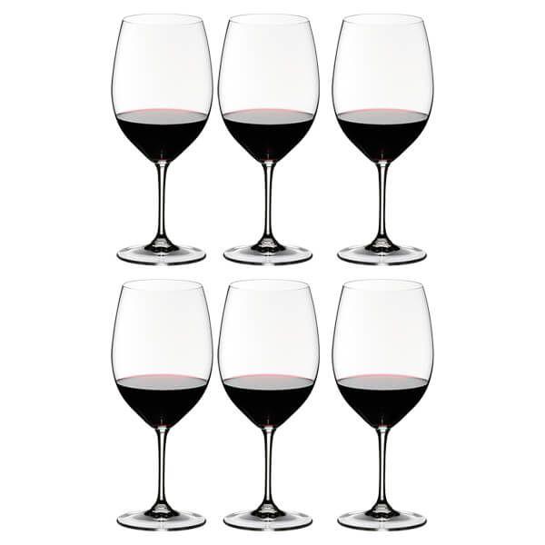 Riedel Vinum Cabernet Wine Glasses Set Of 6