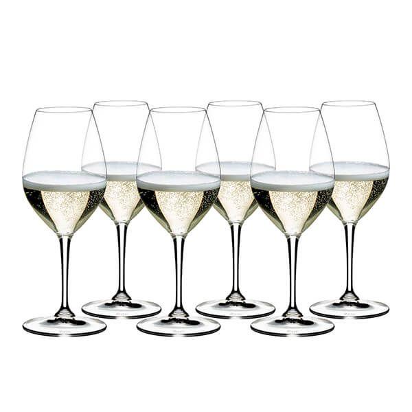 Riedel Vinum 265 Year Anniversary Champagne Wine Glass Set Of 6