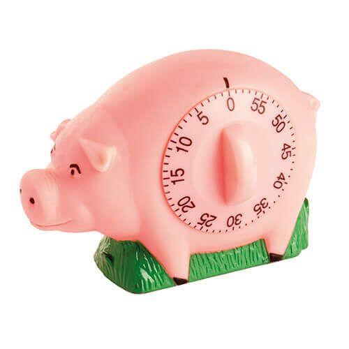 Eddingtons Novelty Pig Kitchen Timer