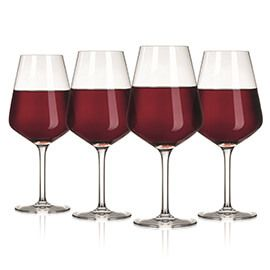 The Wine Show Wine Glass Red Set Of 4
