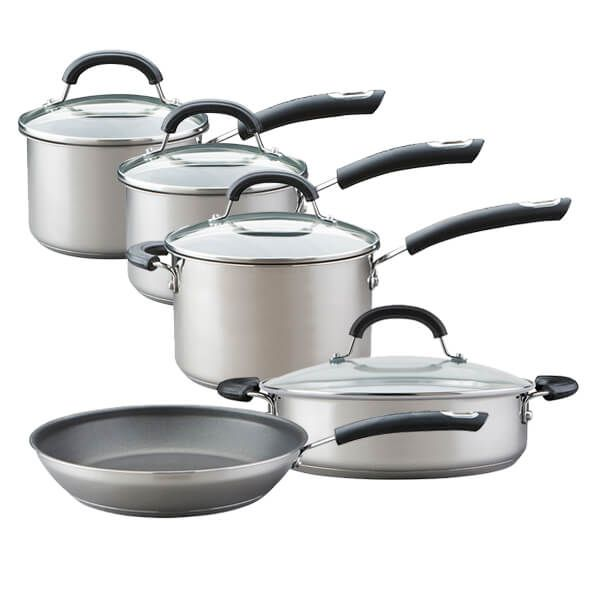 Circulon Total Stainless Steel 5 Piece Cookware Set