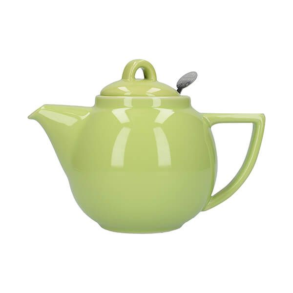 London Pottery Geo Filter 2 Cup Teapot Pistachio