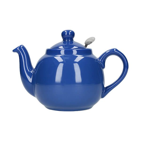 London Pottery Farmhouse Filter 2 Cup Teapot French Blue