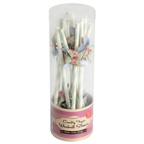 Eddingtons Country Fayre Windmill Straws 12 Pack