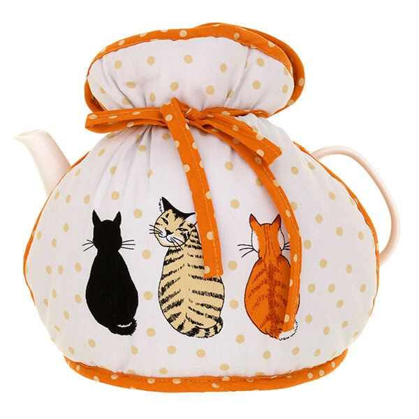 Ulster Weavers Cats in Waiting Muff Tea Cosy