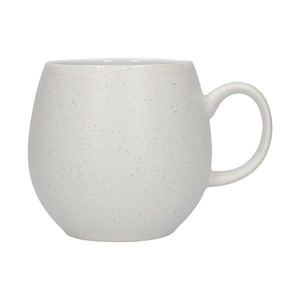 London Pottery Pebble Mug Matt Speckled White