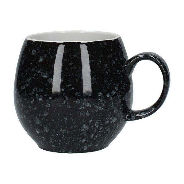 London Pottery Pebble Mug Gloss Black Flecked