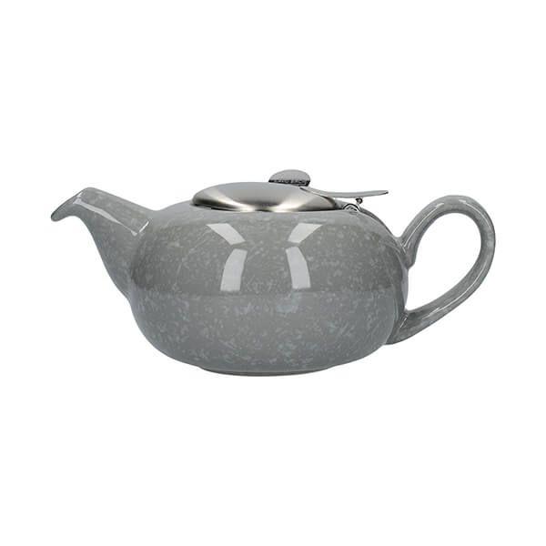 London Pottery Pebble Filter 2 Cup Teapot Gloss Grey