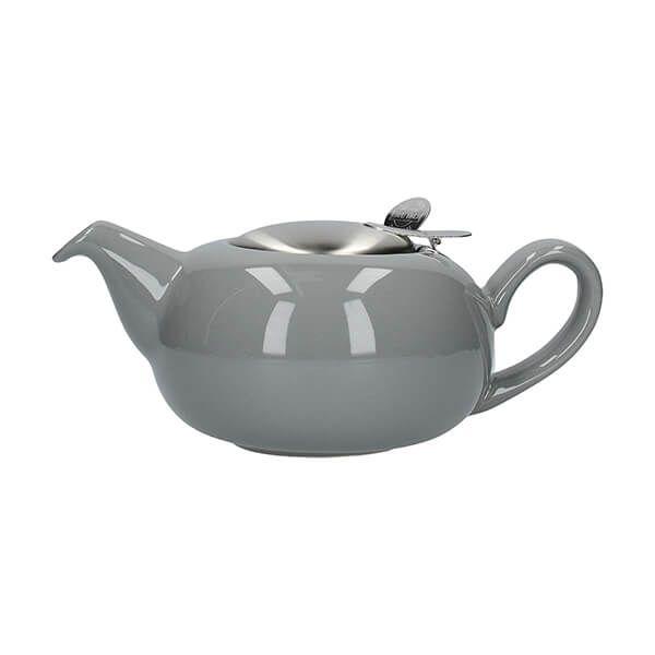 London Pottery Pebble Filter 2 Cup Teapot Light Grey