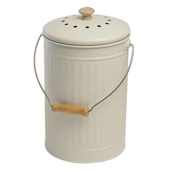 Eddingtons 7 Litre Compost Pail / Bin Chalk