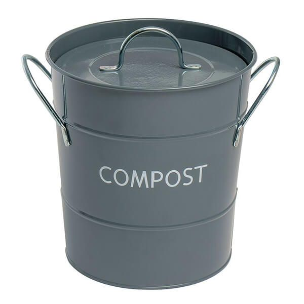 Eddingtons Compost Pail / Bin Grey