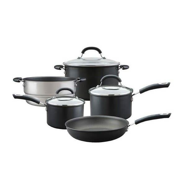 Circulon Total Hard Anodised 5 Piece Cookware Set