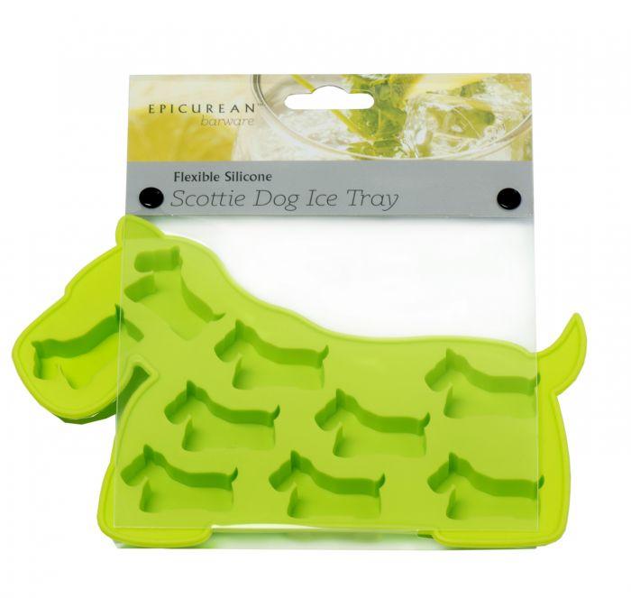 Epicurean Barware Green Scottie Dog Ice Cube Tray