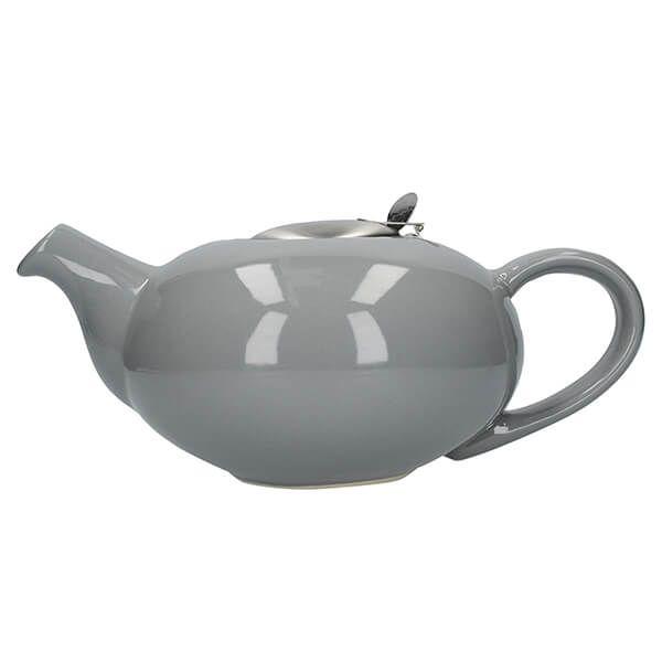 London Pottery Pebble Filter 4 Cup Teapot Light Grey