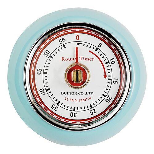 Eddingtons Retro Magnetic Timer Blue
