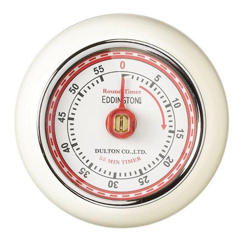 Eddingtons Retro Magnetic Timer Ivory