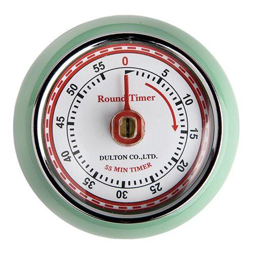 Eddingtons Retro Magnetic Timer Mint Green
