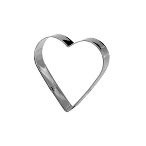 Eddingtons Stainless Steel Cookie Cutter Heart Shape