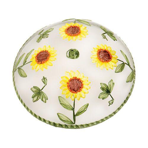 Epicurean Sunflower Pattern Food Cover