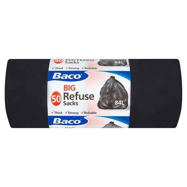 Baco 50 x 84L Big Refuse Sacks