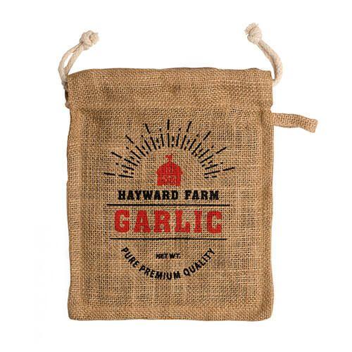 Eddingtons Jute Hayward Farm Garlic Bag