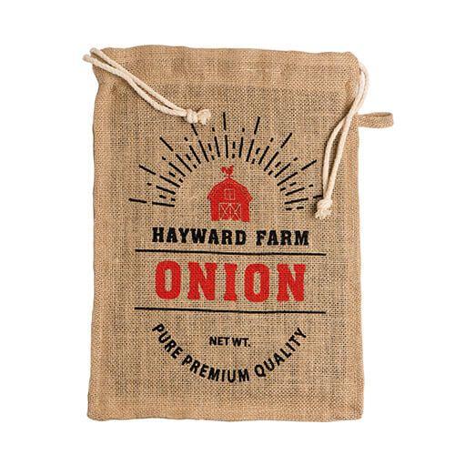 Eddingtons Jute Hayward Farm Onion Bag