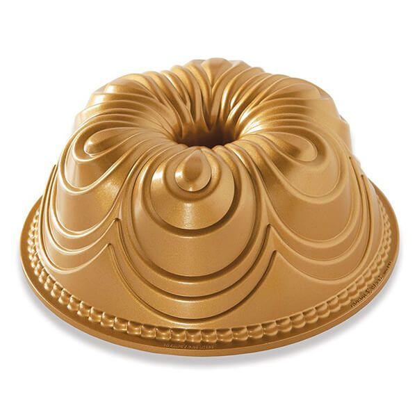 Nordic Ware Chiffon Bundt Pan Gold