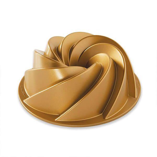 Nordic Ware 6 Cup Heritage Bundt Pan Gold