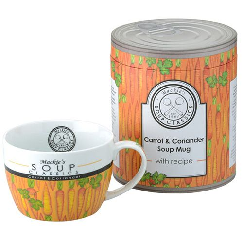 Clare Mackie Carrot and Coriander Soup Mug